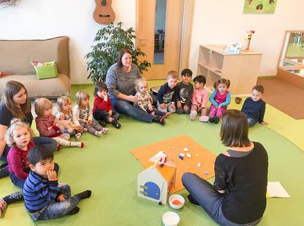 Alltag im Kinderhaus