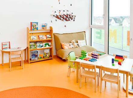 Gruppenraum Gruppe Orange
